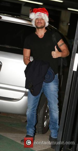 Peter Andre - Celebrities at ITV studios at ITV studios , London - London, United Kingdom - Friday 12th December...