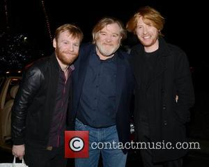 Brian Gleeson, Brendan Gleeson and Domhnall Gleeson