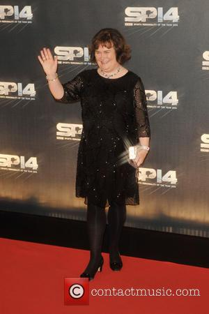 Susan Boyle - Photographs from the red carpet at the BBC Sports Personality Of The Year Award 2014 an annual...