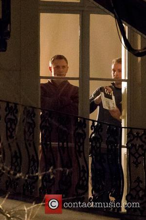 Daniel Craig - Stars of the new 007 movie 'Spectre' Daniel Craig (James Bond) and Naomie Harris (Eve Moneypenny) were...