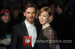 Dan Stevens and Guest - Stars from the latest in the Night at the Museum series of movies 'Night At...