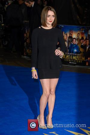 Maisie Williams - 'Night at the Museum: Secret of the Tomb' - UK film premiere held at the Empire Leicester...