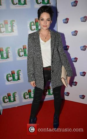 Sarah Greene - Opening night of 'Elf the Musical' at The Bord Gais Energy Theatre in Dublin - Arrivals -...
