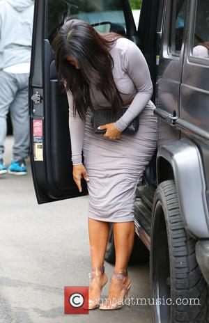 Kim Kardashian was snapped out and about in Beverly Hills as she filmed scenes for the upcoming 10th season of...