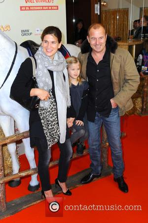 Marie-jeanette Ferch, Daughter Ava and Heino Ferch