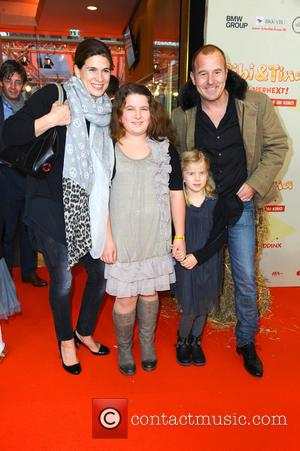 Marie-jeanette Ferch, Niece Magdalena, Daughter Ava and Heino Ferch