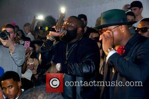 Rick Ross and Sincere - American rapper and founder of Maybach Music Group Rick Ross gave a live performance at...