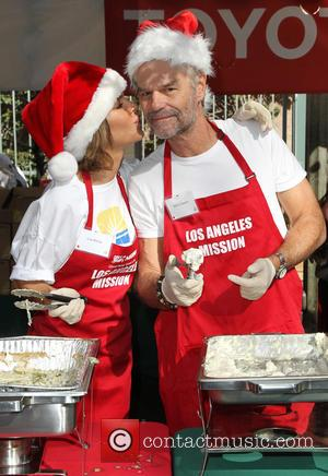 Lisa Rinna and Harry Hamlin - A variety of stars were on hand to help out at the Los Angeles...