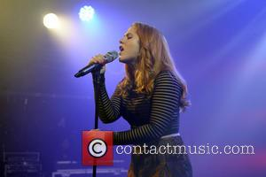 Katy B - Shots of British pop stars Katy B and Alexandra Burke as they gave live performances at G-A-Y's...