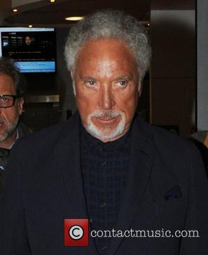Tom Jones - Tom Jones and Ricky Wilson leaving BBC Radio 2 studios - London, United Kingdom - Monday 5th...