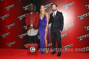 Rita Ora, Ricky Wilson and Will.I.Am - Photos from the launch of the 4th season of The Voice UK which...