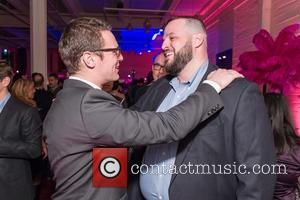 Jonathan Groff and Daniel Franzese - Shots of a host of celebrities as they arrived for the world premiere of...