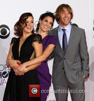 Cote de Pablo, Daniela Ruah and Eric Christian Olsen - The 41st Annual People's Choice Awards at Nokia Theatre LA...