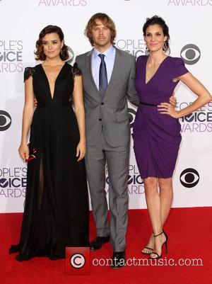 Cote de Pablo, Eric Christian Olsen and Daniela Ruah - The 41st Annual People's Choice Awards at Nokia Theatre LA...