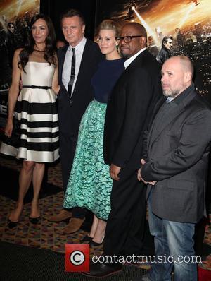 Famke Janssen, Liam Neeson, Maggie Grace, Forest Whitaker, Director and Olivier Megaton