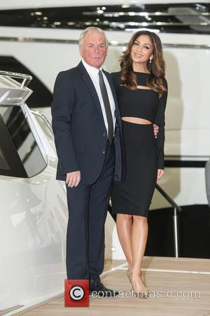 Nicole Scherzinger, Robert Braithwaite and CBE - Nicole Scherzinger launches the Sunseeker Predator at the London Boat Show held at...