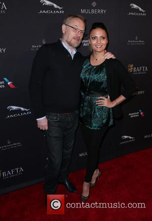 Jared Harris and Allegra Riggio - A host of stars were snapped as they attended the British Academy of Film...