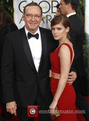 Kevin Spacey, Kate Mara, Golden Globe Awards, Beverly Hilton Hotel