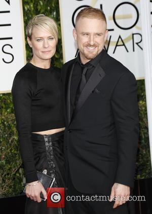 Robin Wright, Golden Globe Awards, Ben Foster, Beverly Hilton Hotel