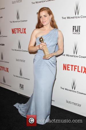 Amy Adams - 2015 Weinstein Company and Netflix Golden Globes After Party at The Beverly Hilton Hotel at Robinsons May...