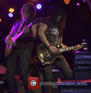 Richie Sambora and Slash