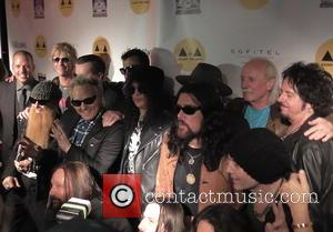 Matt Sorum, Duff Mckagan, Slash, Billy Gibbons and Butch Trucks