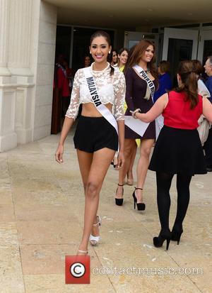 Sabrina Beneett form Miss Malaysia - Donald Trump opens Red Tiger Golf Course at Trump National Doral at Trump National...