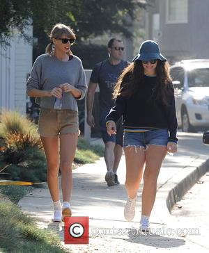 Taylor Swift and Lorde - Shots of Bff's Taylor Swift and Lorde as they went for a hike in Beverly...