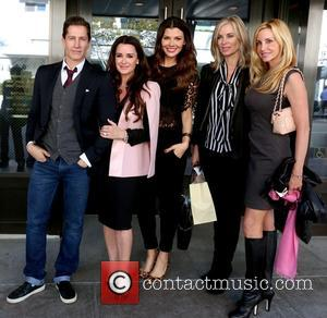 Kyle Richards, Ali Landry, Eileen Davidson and Kim Richards - Kyle Richards celebrates her birthday with the cast members of...