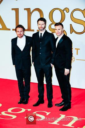 Gary Barlow, Howard Donald, Mark Owen and Take That - 'Kingsman: The Secret Service' U.K. Premiere held at the Odeon...