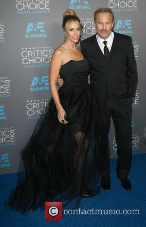 Christine Baumgartner and Kevin Costner - A host of stars were snapped as they attended the 20th Annual Critics' Choice...