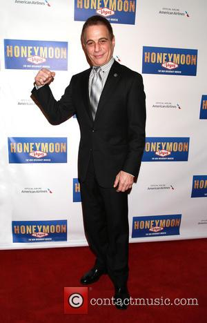 Tony Danza - Opening night after party for Broadway's Honeymoon in Vegas, held at the Hard Rock Cafe - Arrivals....