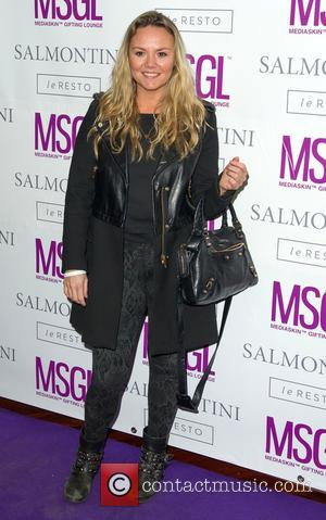 Charlie Brooks - Media Skin Gifting Lounge Showcase at Salmontini - Arrivals at Mayfair - London, United Kingdom - Monday...