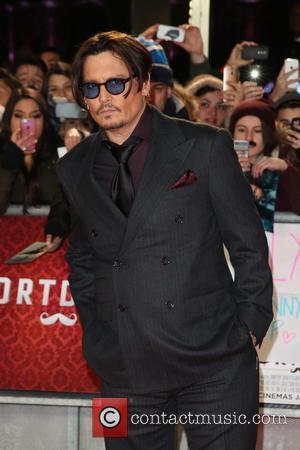 Johnny Depp - The UK premiere of Mortdecai held at the Empire cinema - ArrivalsLia Toby/WENN - London - Monday...