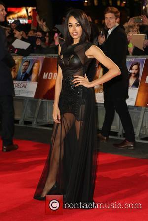 Jade Ewen - The UK premiere of Mortdecai held at the Empire cinema - Arrivals - London, United Kingdom -...