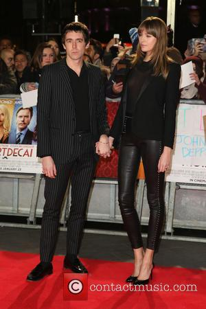 Miles Kane and Girlfriend - The UK premiere of Mortdecai held at the Empire cinema - Arrivals - London, United...