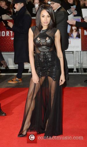 Jade Ewen - 'Mortdecai' U.K. Premiere at the Empire, Leicester Square - Arrivals - London, United Kingdom - Monday 19th...