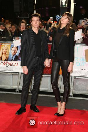 Miles Kane and Girlfriend - The UK premiere of 'Mortdecai' held at the Empire cinema - Arrivals - London, United...