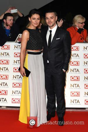 Emma Willis and Matt Willis - A host of British television stars were photographed on the red carpet at The...