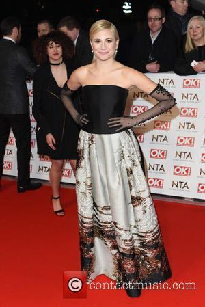 Pixie Lott - A host of British television stars were photographed on the red carpet at The National Television Awards...