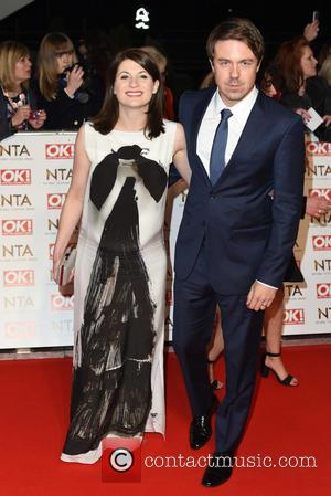 Jodie Whittaker and Guest - A host of British television stars were photographed on the red carpet at The National...