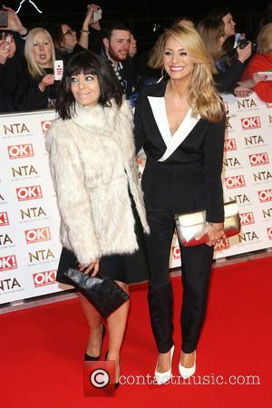 Claudia Winkleman and Tess Daly - A host of British television stars were photographed on the red carpet at The...