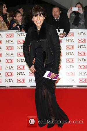 Davina McCall - A host of British television stars were photographed on the red carpet at The National Television Awards...