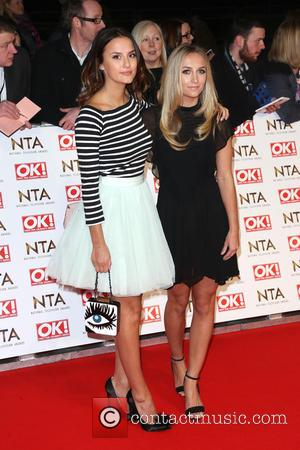 Lucy Watson and Tiffany Watson - A host of British television stars were photographed on the red carpet at The...