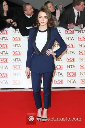 Maisie Williams - A host of British television stars were photographed on the red carpet at The National Television Awards...