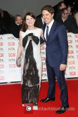 Jodie Whittaker and Andrew Buchan - The National Television Awards (NTA's) 2015 held at the O2 - Arrivals at The...