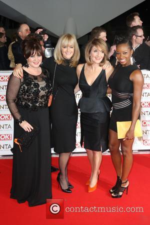 Coleen Nolan, Jane Moore, Kaye Adams and Jamelia - The National Television Awards (NTA's) 2015 held at the O2 -...