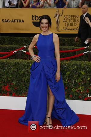 Julianna Margulies - 21st Annual Screen Actors Guild Awards - Arrivals at Shrine Auditorium, Screen Actors Guild - Los Angeles,...