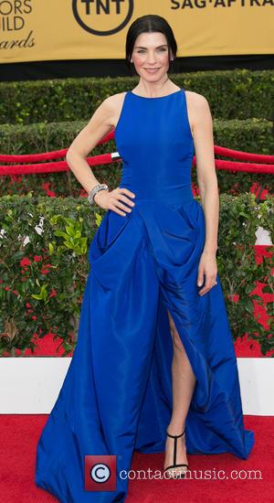 Julianna Margulies - 21st Annual SAG (Screen Actors Guild) Awards at Los Angeles Shrine Exposition Center - Arrivals at Los...
