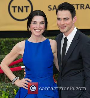 Julianna Margulies and Keith Lieberthal - 21st Annual SAG (Screen Actors Guild) Awards at Los Angeles Shrine Exposition Center -...
